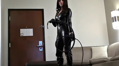 Boot fetish, Over, Catsuit, Hannah