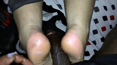 Black feet, Ball, Black foot fetish, Bbw feet