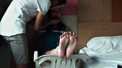 Foot, Torture, Tickle, Tickling, Tickle torture, Ball