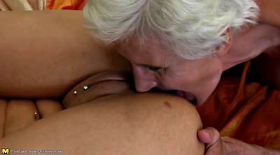 Mature lesbian, Lesbian old and young, Grannis