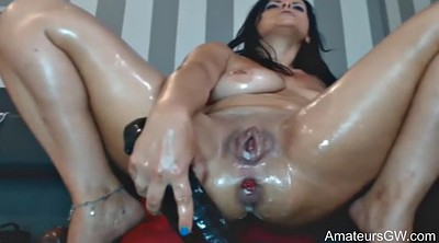 Double dildo, Anal pee, Anal squirt