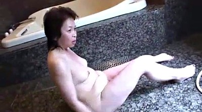 Japanese dildo, Japanese granny, Japanese mature, Bathroom, Asian granny, Mature japanese