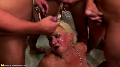 Old young, Granny group, Granny gangbang, Mature nl