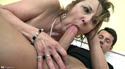 Mom and son, Mom sex, Granny amateur