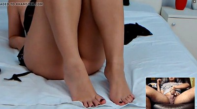 Arab, Indian feet