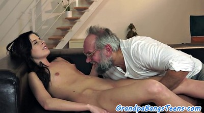 Old and young, Granny creampie, Old creampie