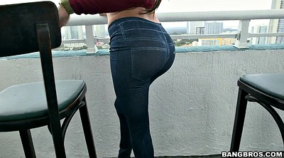 Jeans, Tight jeans, Big ass latina