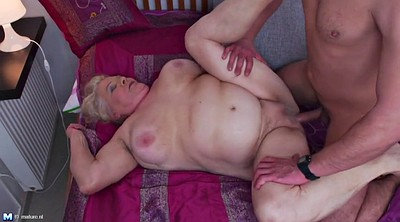 Old young, Mature blowjob, Hairy old