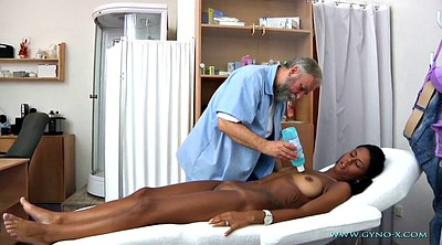 Ebony anal, Gyno, Doctor, Exam