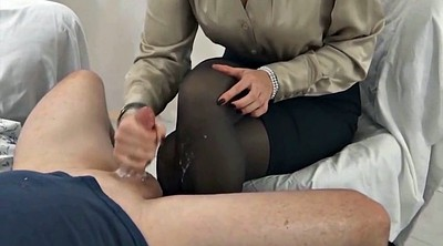 Feet, Nylon handjob, Nylon feet, Stocking feet, Nylon stocking, Nylon cum