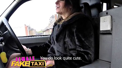 Taxi, Fake taxi, Fake tits, Big fake tits