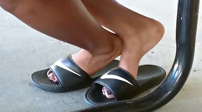 Milf feet, Sole, Black foot