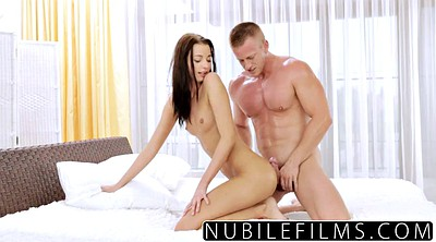First time anal, First anal, Skinny russian, Anal massage