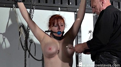 Torture, Swedish, Torture bdsm, Red hair, Ebony bondage, Black man