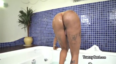 Big butt latina, Shemale gangbang, Shemale latina