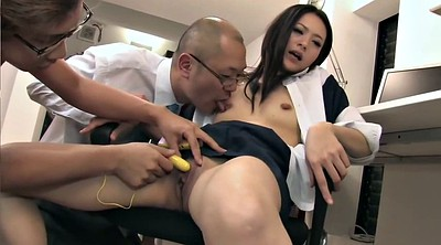 Japanese office, Japanese threesome, Asian office