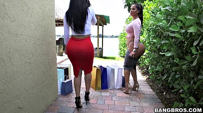 Two big asses, Two big ass latina, Spicy j, Shop, Back