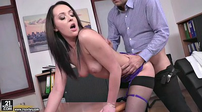 Secretary, Gorgeous, Big boss, Secretary anal, Office boss, Boss anal