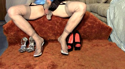 Sissy, Shoe, Shoes, Stocking shemale