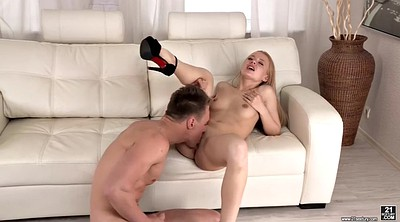 Angel long, Shaved, All holes