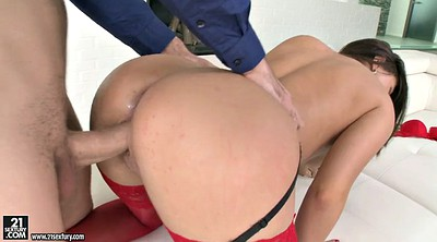 Doggy, Nikki waine, Teen stocking, Teen heels, Heels fuck
