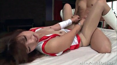 Pantyhose cum, She cums, Asian orgasm