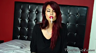 Tera patrick, Smoking, Tera, Smoking mature, Smoking fetish, Asian smoking