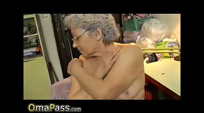 Compilation, Grandmas, Mature masturbating