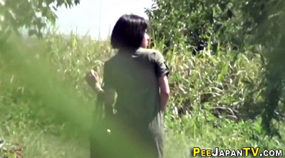 Japanese peeing, Japanese public, Outside, Japanese outdoor