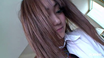 Money, Horny, Japanese schoolgirl, Japanese schoolgirls, Hairy asian, Hairy schoolgirls
