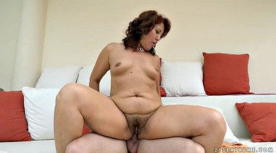 Red, Hairy mature, Granny blowjob, Bbw mature, Bbw hairy, Granny fucking