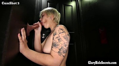 Gloryhole, Cum swallow