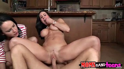 Daughter, Kitchen, Mom handjob, Mom and daughter, Mom daughter, Handjob mom
