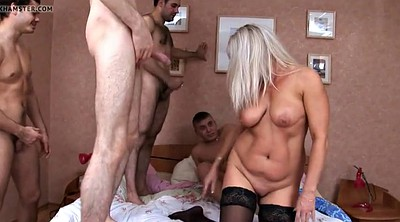 Mature pussy, Mature gangbang, Mature double, Double pussy