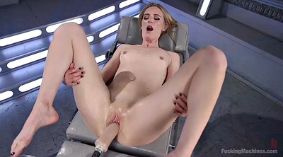 Milf, Pee, Fucking machine, Pale, Squirting fuck, Mona