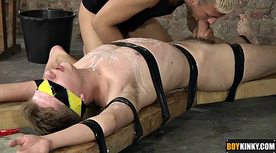 Tied, Tied up, Blindfolded, Tied handjob