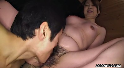 Hairy, Japanese mature, Asian mature, Bath