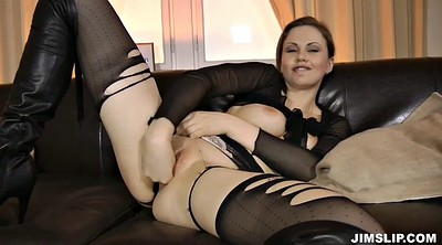 Torn, Pantyhose fuck, Old lady