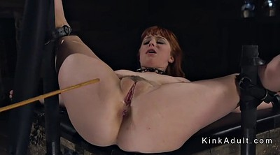 Caning, Hogtied, Dungeon, Caned
