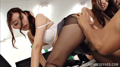 Office, Asian cumshot