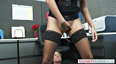 Office, Stockings office, Danica, Corset, Big tits stockings