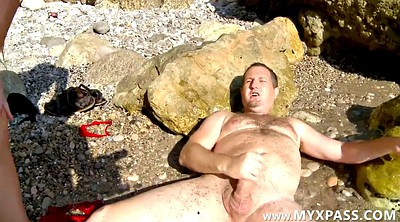Mature anal, Beach couple, Pee sex, Beach sex, Anal matures