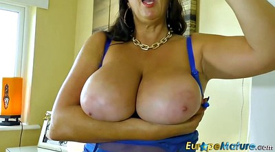 Granny masturbation, Granny solo, Chubby solo, Huge boob, Huge boobs, Mature huge tits