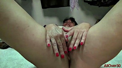 Masturbation, Hairy mature, Shaving mature, Mature masturbation, Mature hairy