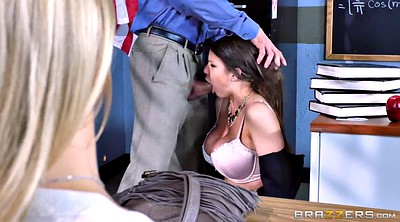 Mouth, Watching husband, Alexis fawx, Brooklyn chase, Alexis