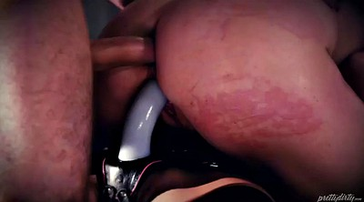 Spank, Chanel preston, Doggy, Femdom spanking, Face fuck, Chanel