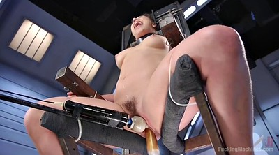 Machine, Sybian, Tied fuck, Danger, Tied orgasm, Tie