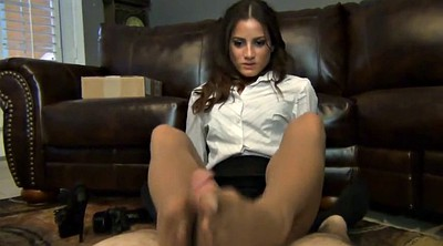 Pantyhose feet, Pantyhose footjob