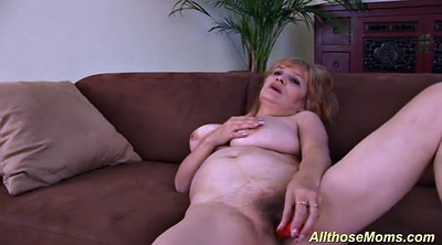 Czech mature, Mature masturbation, Hairy mature solo