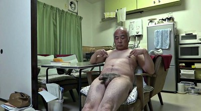 Asian granny, Japanese granny, Big nipples
